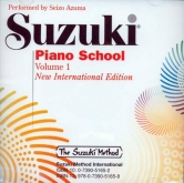 Suzuki Piano School - CD - Volume 1