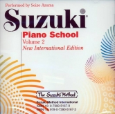 Suzuki Piano School - CD - Volume 2