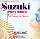 Suzuki Piano School - CD - Volume 3