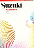 Suzuki Piano School - Volume 2 - Book
