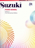 Suzuki Piano School - Volume 4 - Book and CD