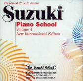 Suzuki Piano School - CD - Volume 4