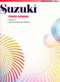 Suzuki Piano School - Volume 4 - Book