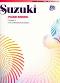 Suzuki Piano School - Volume 5 - Book and CD