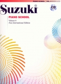 Suzuki Piano School - Volume 6 - Book and CD