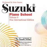 Suzuki Piano School - CD - Volume 6
