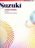 Suzuki Piano School - Volume 7 - Book