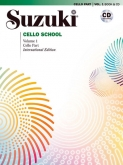 Suzuki Cello School - Volume 1 - Cello Part & CD