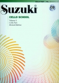 Suzuki Cello School - Volume 2 - Cello Part & CD - (Rev. Edition