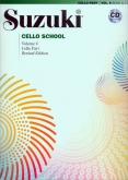 Suzuki Cello School - Volume 6 - Cello Part & CD - (Rev. Edition