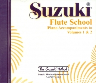 Suzuki Flute School - CD Volume 1-2 - Piano Accompaniment