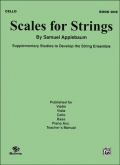 SCALES FOR STRINGS BOOK ONE