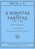 6 Sonatas and Partitas S.1001 - S.1006