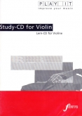 Play It Study CD For Violin - JS Bach - SONATA B- No. 1