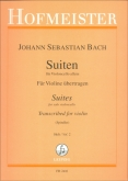Bach Cello Suites arranged for Violin