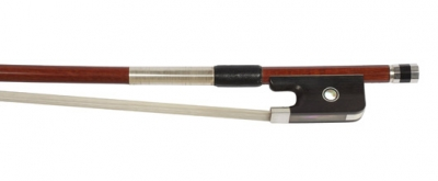 Brazilian Silver Mounted Cello Bow - 3/4