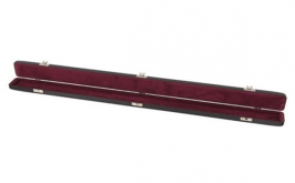 Fibreglass single bow case for violin/viola/cello - Red