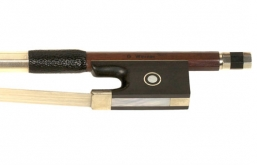 Werner Pernambuco Nickel Mounted Violin Bow - 1/2