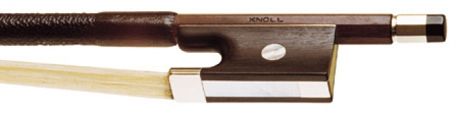 Knoll Round Brazilwood Violin Bow - 1/16