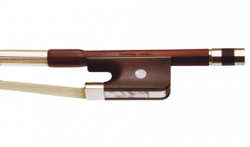 Knoll Pernambuco Nickel Mounted Viola Bow