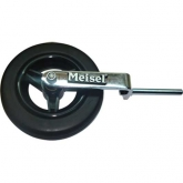 "Meisel Bass Transport Wheel - With 3/8"" Shaft"