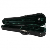 Gewa Maestro Shaped Violin Case - Black/Green