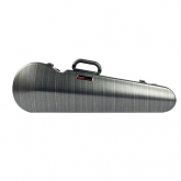 Bam Hightech Contoured Violin Case - 4/4 - Black Lazure