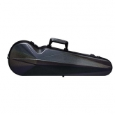 Bam Supreme Cosmic Hightech Contoured Violin Case - Black