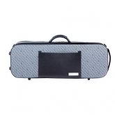 Bam Signature Stylus Violin Case - Grey Pattern