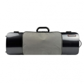 Bam Hightech Oblong Violin Case - Carbon Look - With Pocket