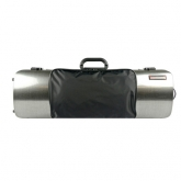 Bam Hightech Oblong Violin Case - Tweed - With Pocket