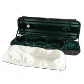 Gewa Maestro Oblong Violin Case - Black/Green