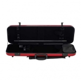 Gewa Idea 2.3 Oblong Violin Case - Red/Black