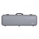 Gewa Air Diamond Oblong Violin Case - Silver