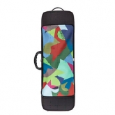 Riboni UNOeOTTO T2 Violin Case - MR LOGO - Multi Colour