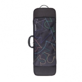 Riboni UNOeOTTO T2 Violin Case - MR LOGO - Multi Colour Lines