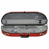 Bobelock Half Moon Fiberglass Violin Case - Red