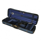 Winter Super Light Oblong Violin Case--Blue/Blue