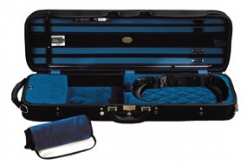 Winter Superlight Oblong Violin Case - Black/Blue