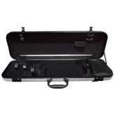 Gewa Idea Oblong Violin Case - Silver/Black