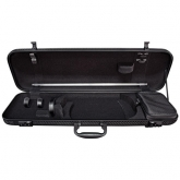 Gewa Idea 1.8 Oblong Violin Case - Black/Black