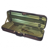 Gewa Cambridge Violin Case - Brown/Green