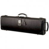 GL Leather Oblong Violin Case--Black