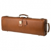 GL Leather Oblong Violin Case--Brown