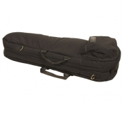 Mooradian Shaped Viola Case Cover - Shoulder Strap - Black