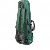 Mooradian Shaped Viola Case Cover - Backpack Straps - Green