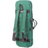 Mooradian Oblong Viola Case Cover - Backpack Straps - Green