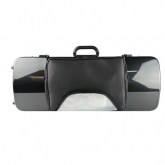 Bam Hightech Oblong Viola Case - Black Carbon Look - With Pocket