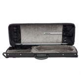 Riboni UNODUE T2 Viola Case - Black- Small (up to 16 3/8 inches)