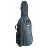 Mooradian Deluxe Cello Case - Backpack Straps - 1/2 - Black